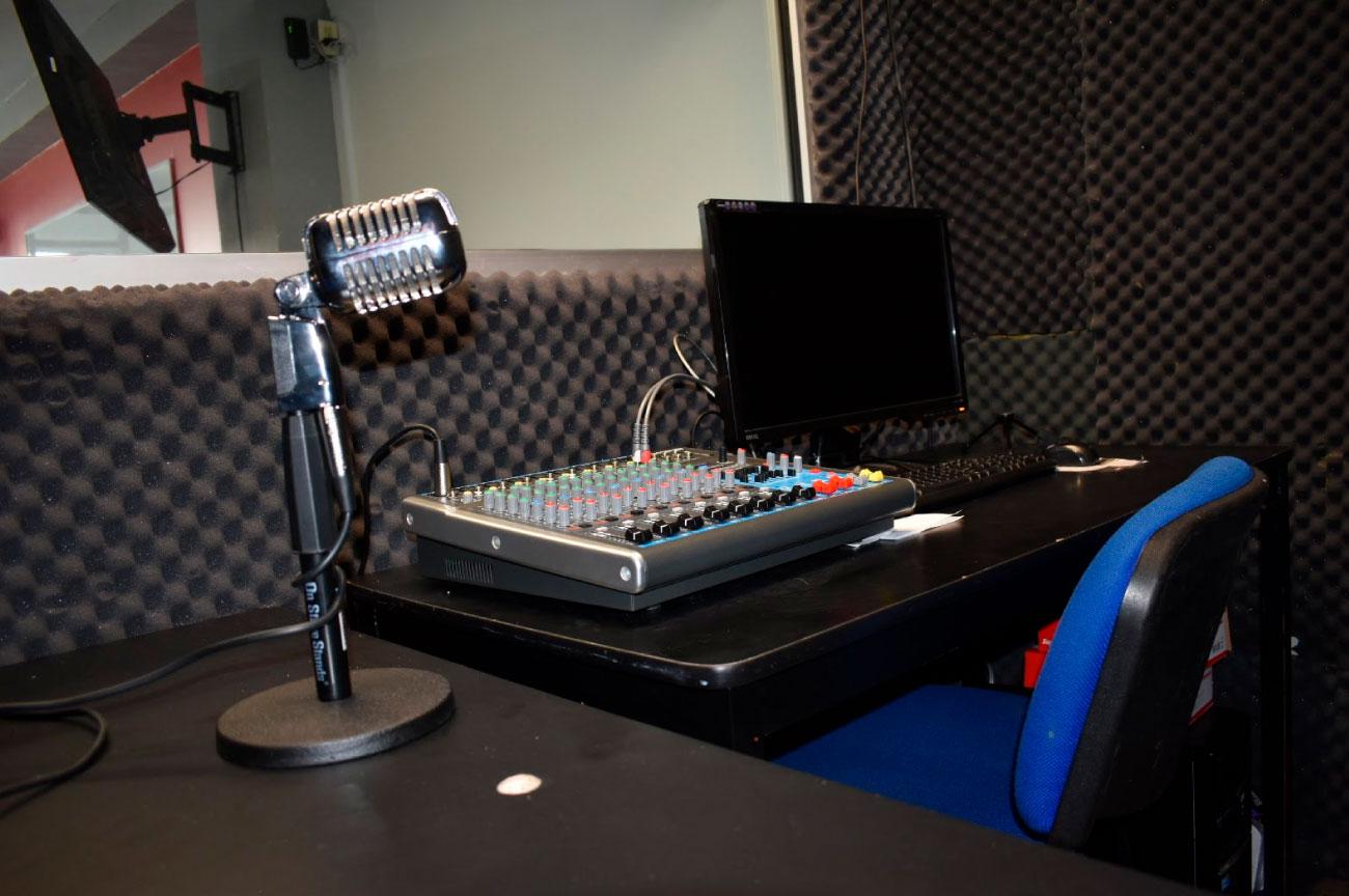Cabina de Radio